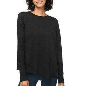 Lululemon Sweetest Day Black Long Sleeve Shirt